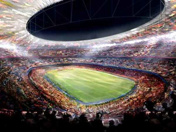 Camp Nou - sân vận động bóng đá lớn nhất thế giới