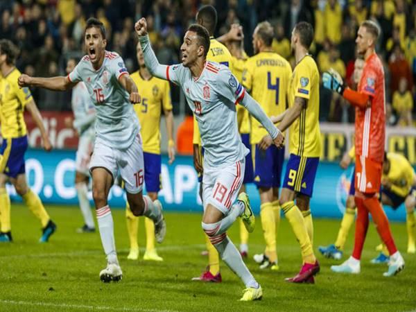 Nhận định tỷ lệ Tây Ban Nha vs Thụy Điển (2h00 ngày 15/6)